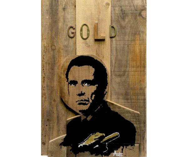 gold finger ANTÒ Fils de Pop - Vente d'Art