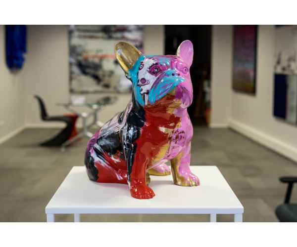Doggy John Pink Julien Marinetti - Vente d'Art