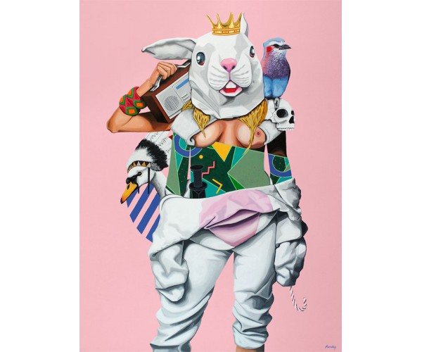 Lapine guilty  Rauky - Vente d'Art