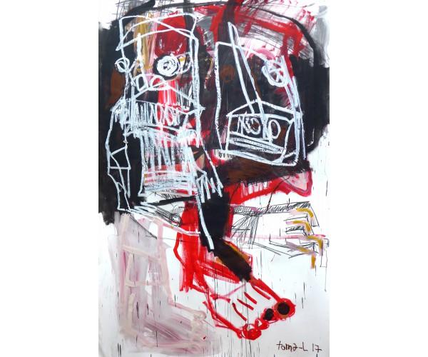 White trash and color Toma-L - Vente d'Art