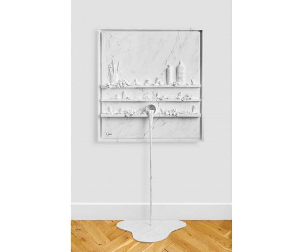 Flow Marbre Blanc Paul Sibuet - Vente d'Art