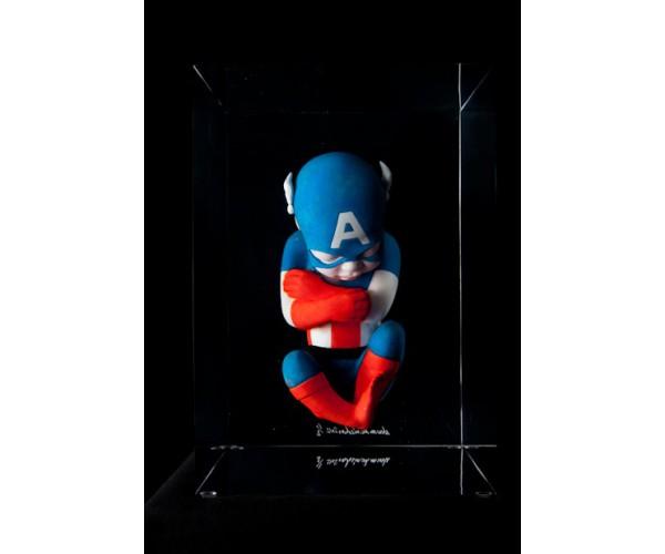 Foetus Captain America  Alexandre Nicolas - Vente d'Art