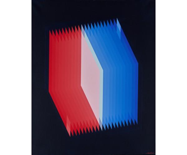 Eclosion Géométrique  Arthur Dorval - Vente d'Art