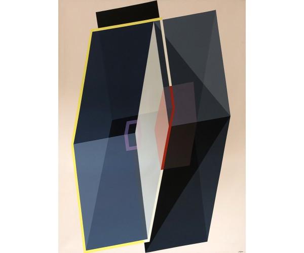 Losange Eclosion Géométrique  Arthur Dorval - Vente d'Art