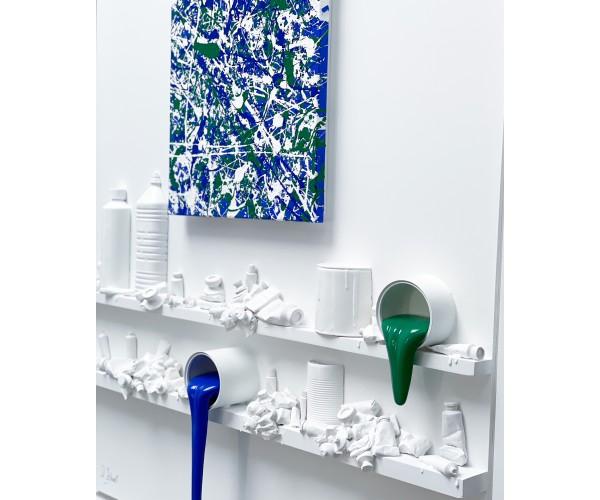 Flow Tribute to Pollock Paul Sibuet - Vente d'Art