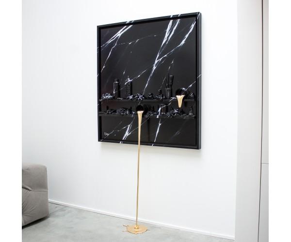 Flow Marbre gold Paul Sibuet - Vente d'Art