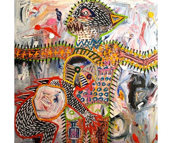 l'Effroi David Nicolas Djordjevic - Vente d'Art