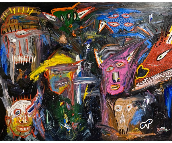 sans titre David Nicolas Djordjevic - Vente d'Art