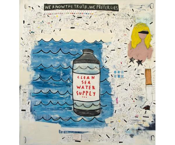 sea water Sebastien Dominici - Vente d'Art