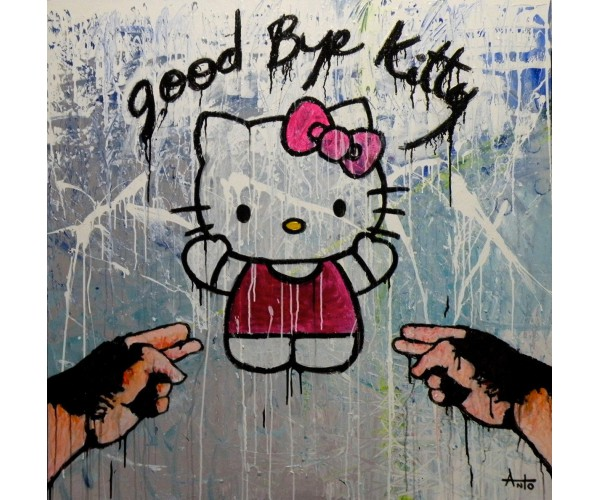 Good bye Kitty ANTÒ Fils de Pop - Vente d'Art