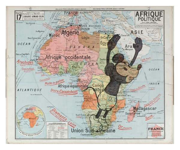 Carte Miaar Nicolas Rubinstein - Vente d'Art