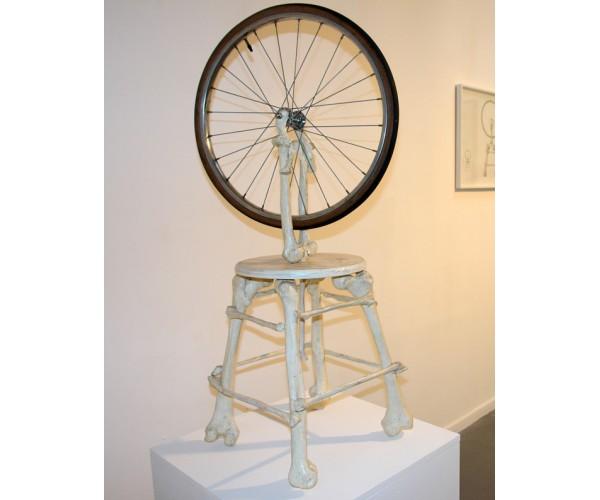 La roue de bicyclette  Nicolas Rubinstein - Vente d'Art