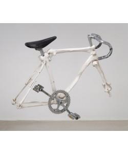 Quel petit vélo en os au fond de la cour