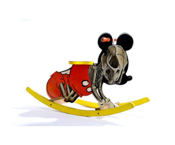 série « Mickey is also a rat » (Micky bascule) Nicolas Rubinstein - Vente d'Art