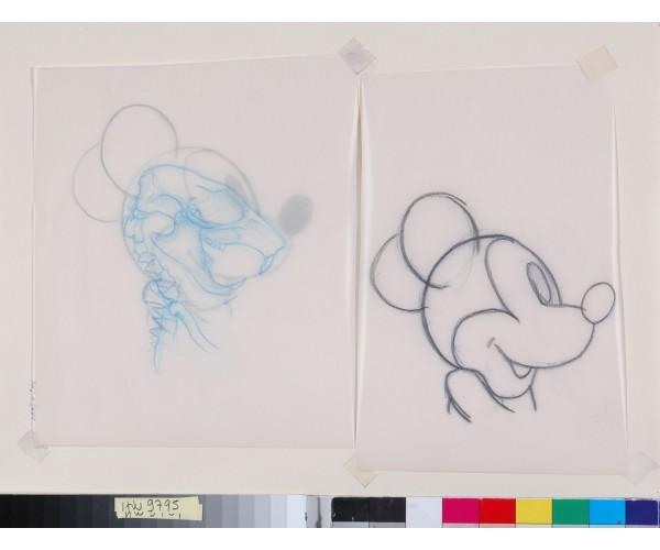 Dessin d'étude MiaaR Nicolas Rubinstein - Vente d'Art