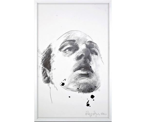 Autoportrait Philippe Pasqua - Vente d'Art