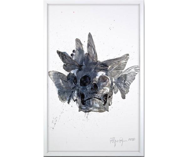 Vanité aux Papillons Philippe Pasqua - Vente d'Art
