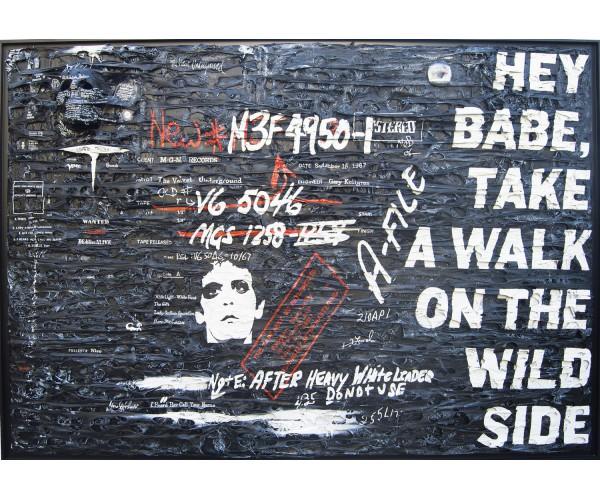 Lou Reed Maxime Lhermet - Vente d'Art