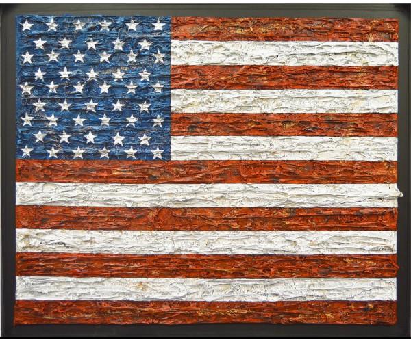 Drapeau USA Maxime Lhermet - Vente d'Art