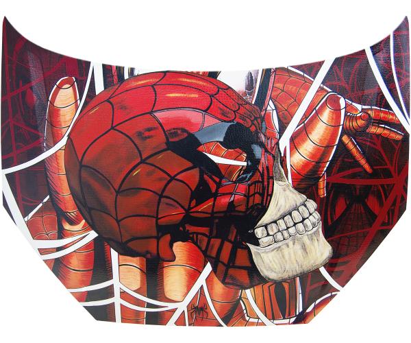 Capot Spider Skull Maxime Lhermet - Vente d'Art