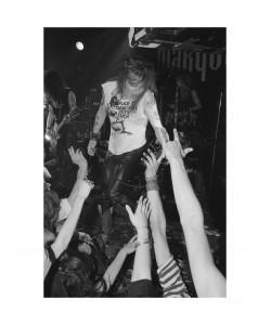 Axl Rose Guns N' Roses, Marquee Londres, Juin 1987