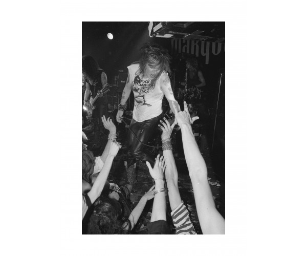 Axl Rose Guns N' Roses, Marquee Londres, Juin 1987  Richard Bellia - Vente d'Art