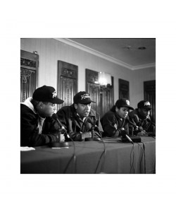 NWA press conference, Londres 1991