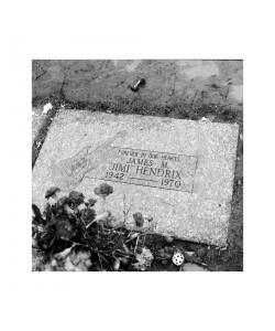 Tombe de Jimi Hendrix, Seattle, novembre 1996
