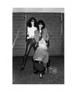 Joey Ramone & Stil Bators, Milton Keynes, juin 1988.