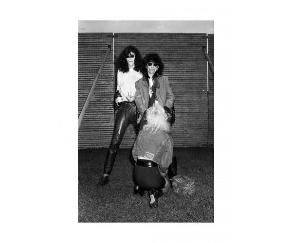 Joey Ramone & Stil Bators, Milton Keynes, juin 1988.  Richard Bellia - Vente d'Art