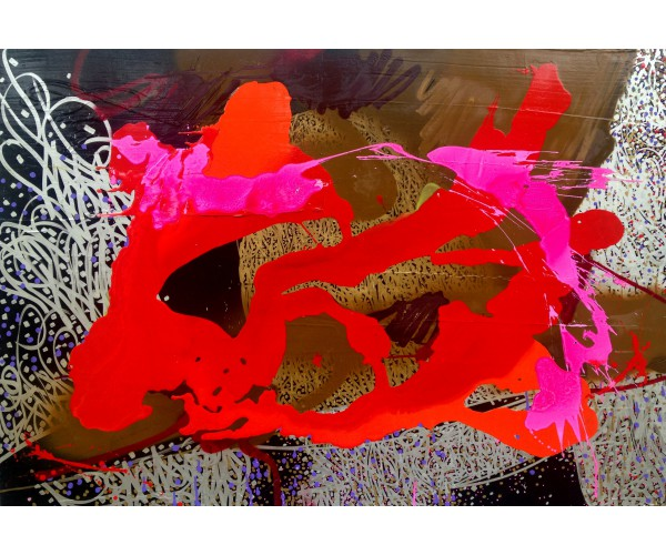 PINK PANDA YODA Sun 7 (SUNSET) - Vente d'Art