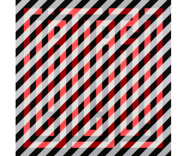Red Diagonals L'Atlas - Vente d'Art