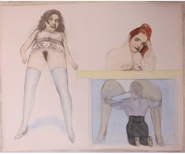 Sans titre  Pat Andréa - Vente d'Art