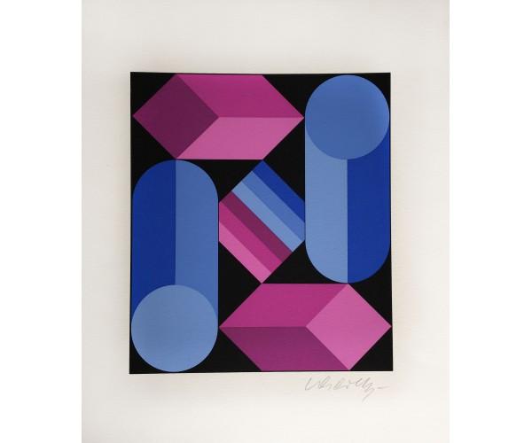 Composition  Victor Vasarely - Vente d'Art