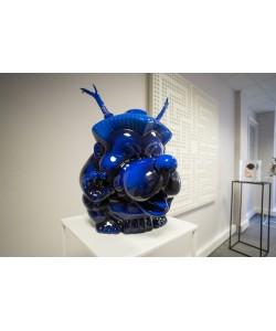 Japan Dog blue