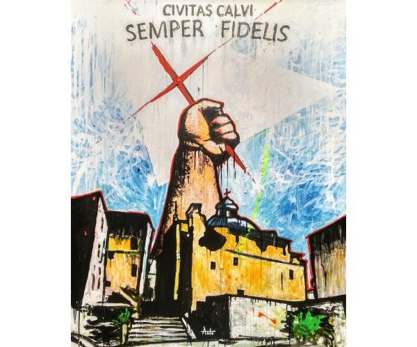 Civitas Calvi ANTÒ Fils de Pop - Vente d'Art