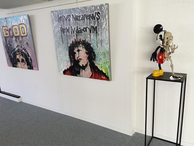 Oeuvres Anto Fils de Pop et Nicolas Rubinstein
